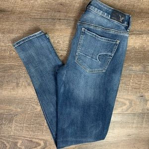 American Eagle Outfitters Distressed Jeggings 4R